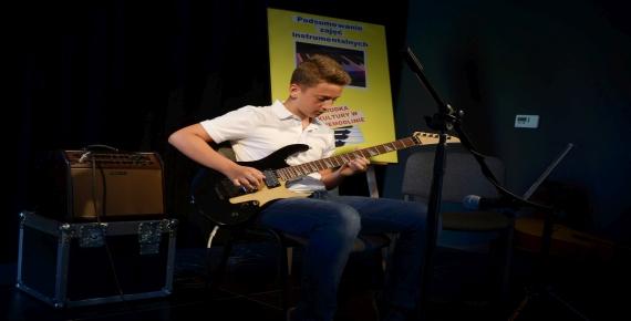 Koncert uczniów zajęć instrumentalnych