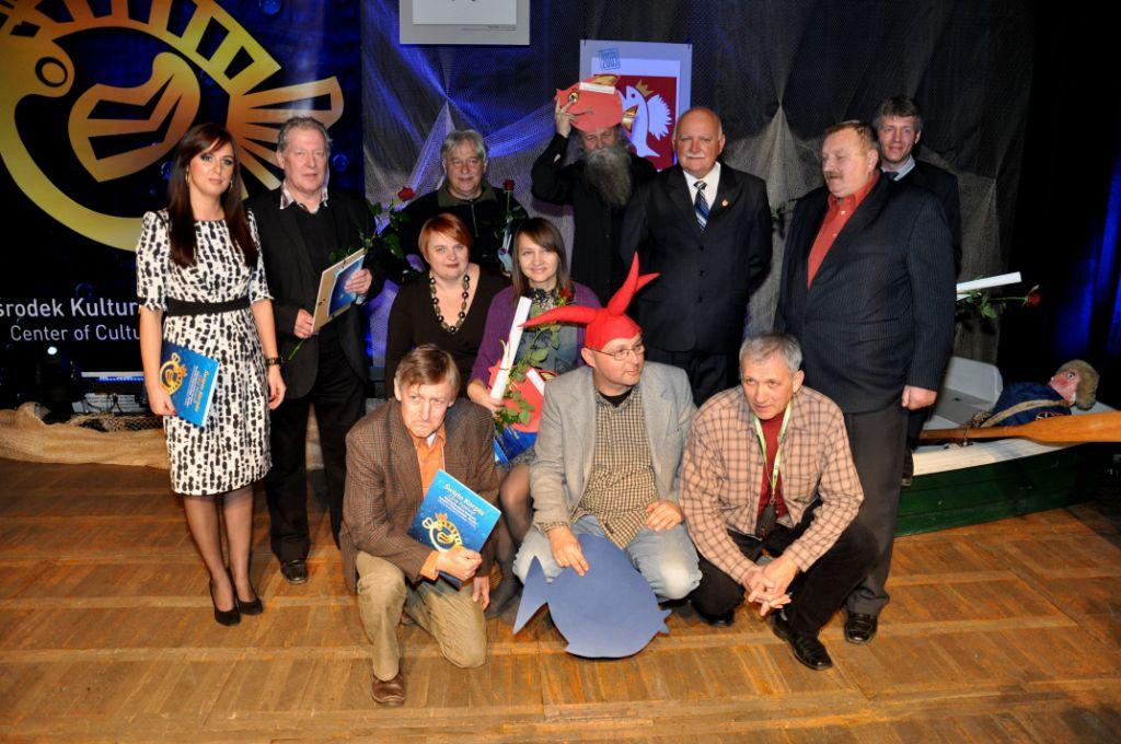 Laureaci, sponsorzy i jurorzy konkursu Karpik 2011