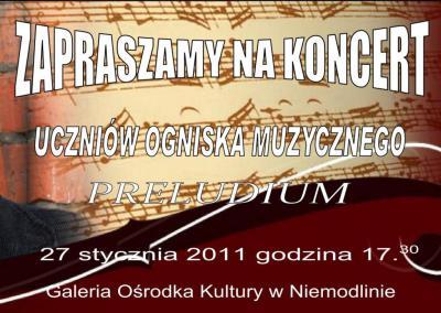 Koncert preludium