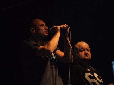 Paweł Kukiz i zespół Piersi (czerwiec 2010)
