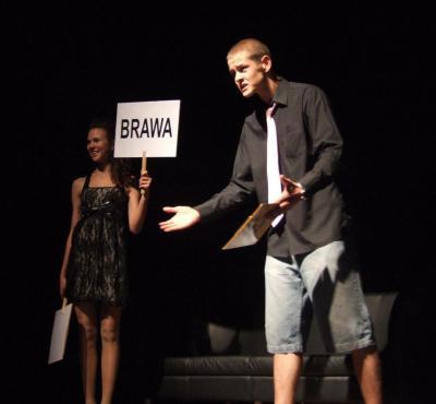 Pięć minut - spektakl młodzieżowej grupy teatralnej