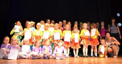 Podsumowanie zajęć tanecznych w roku szkolnym 2010/2011