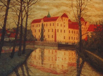 Wernisaż prac W. Łozowskiego