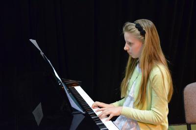 Galeria Koncert uczniów zajęć instrumentalnych (luty 2015)