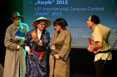 Kabaret pod Wyrwigroszem (listopad 2015)