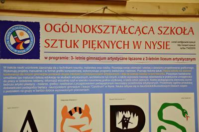 Galeria Wernisaż plastyczniak z Nysy