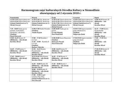 Harmonogram zajęć OK Niemodlin od 02.01.2018.jpeg
